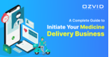 Doorstep Delivery of Medicines with an On-demand Medicine Delivery App