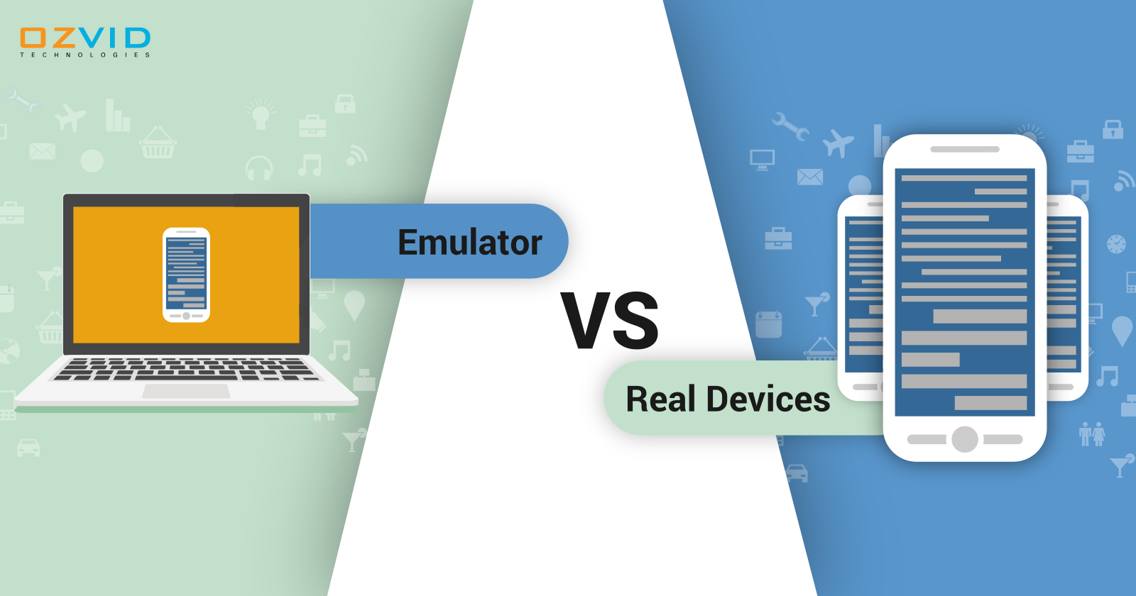Choosing Between Emulators and Real Devices for Testing