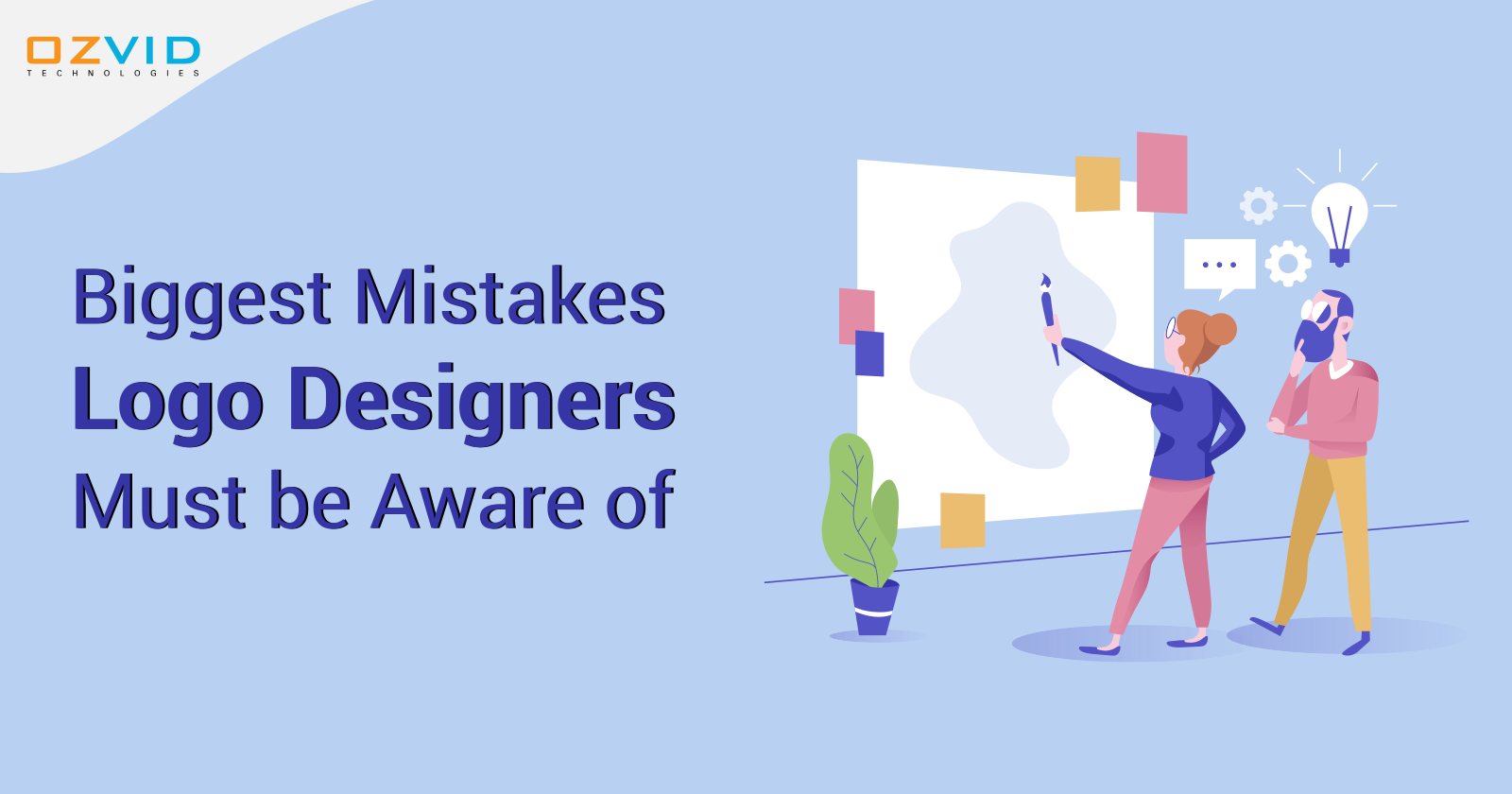 Biggest Mistakes Logo Designers Commit