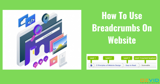 Why Breadcrumbs Are Important In Web Design?