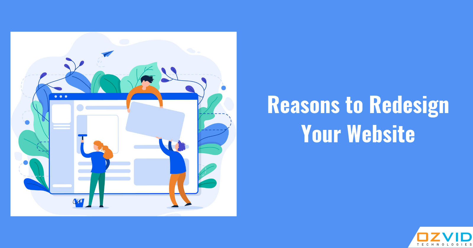 Reasons Why You Should Redesign Your Website