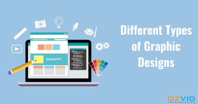 Choose The Best Graphic Designing Services: Graphic Design Types