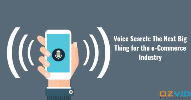 Is Voice Search the Next Big Thing for E-commerce Sector?