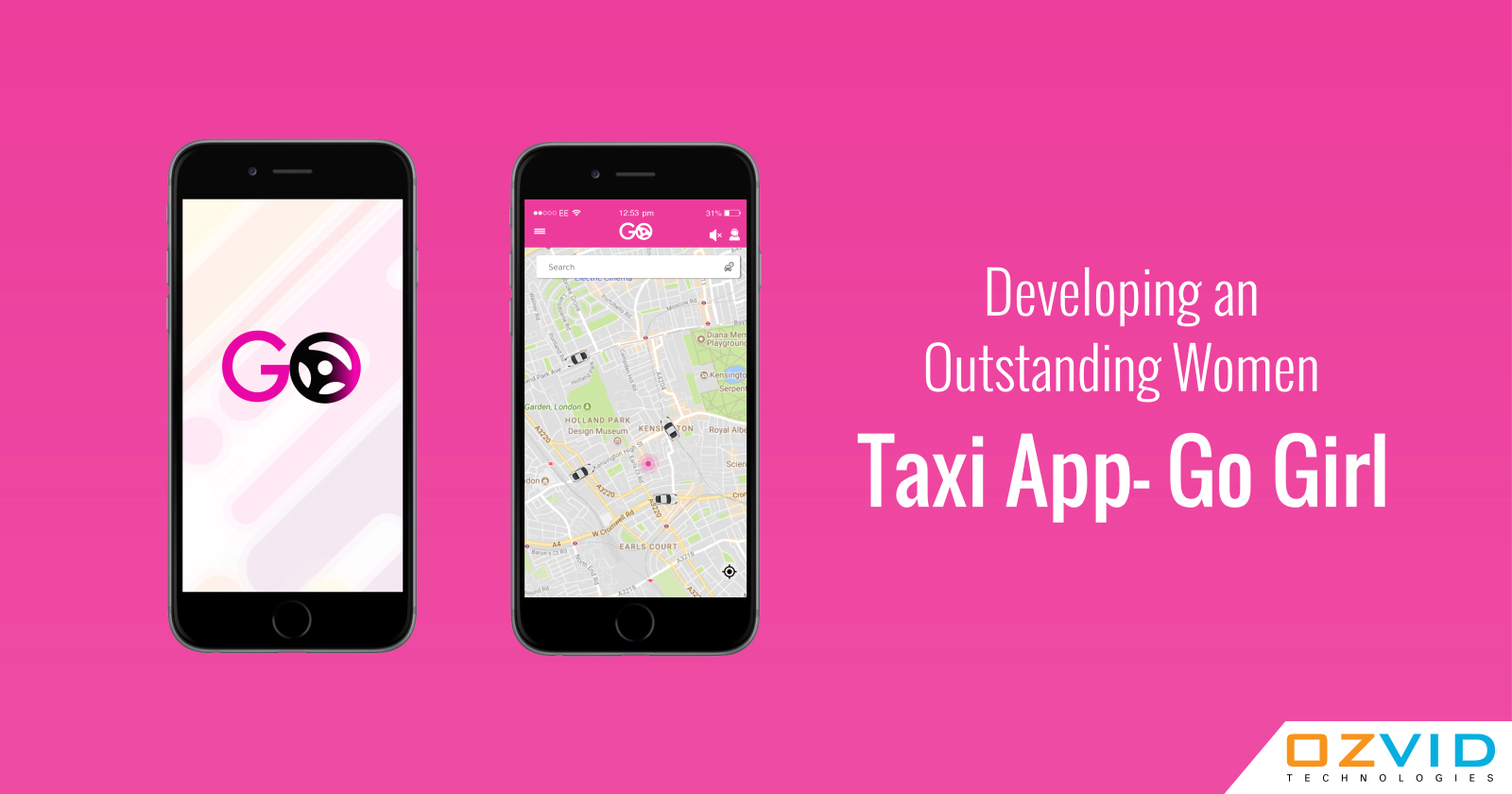 Developing an Outstanding Women Taxi App- Go Girl